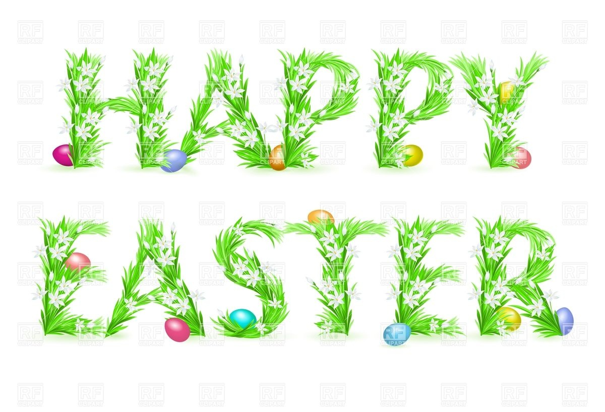 Happy Easter Clipart - Clipart Kid
