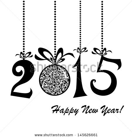 Happy New Year 2015 Clip Art 014