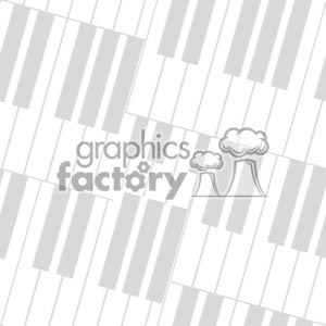 Piano Keys Wallpaper Border