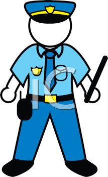 Royalty Free Police Clip Art Occupations Clipart