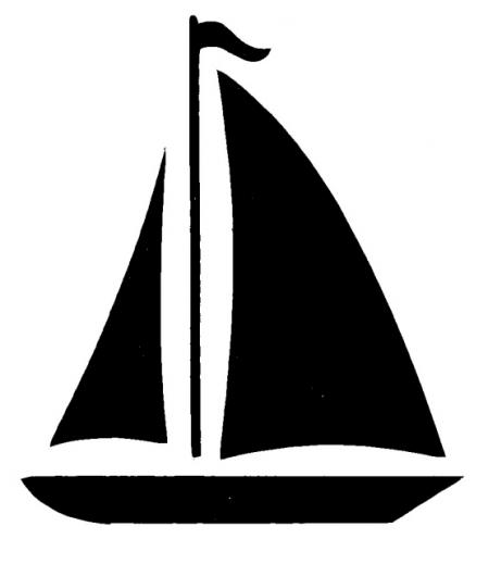 Simple Sailboat Clipart - Clipart Suggest