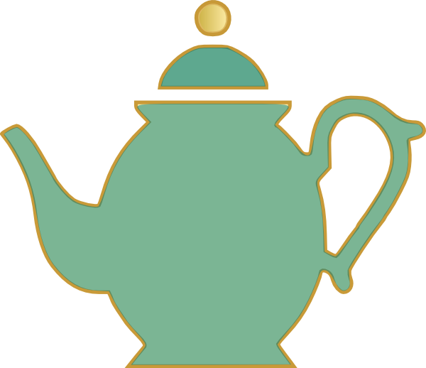 Tea Kettle And Cup Clipart - Clipart Suggest