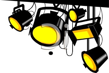 Clip Art Lights Clipart name in lights clipart kid thank you for your interest performing the variety show