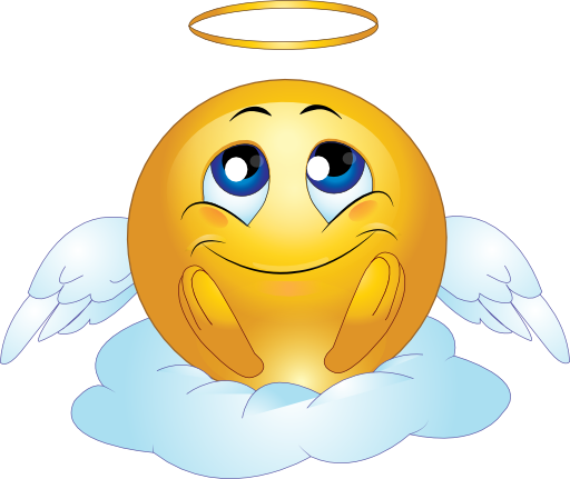 Angel Male Smiley Emoticon Clipart   I2clipart   Royalty Free Public