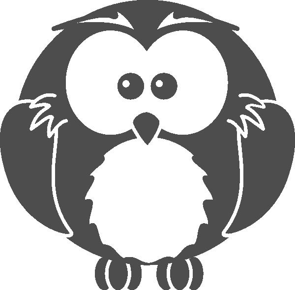 Black Owl Clipart - Clipart Suggest