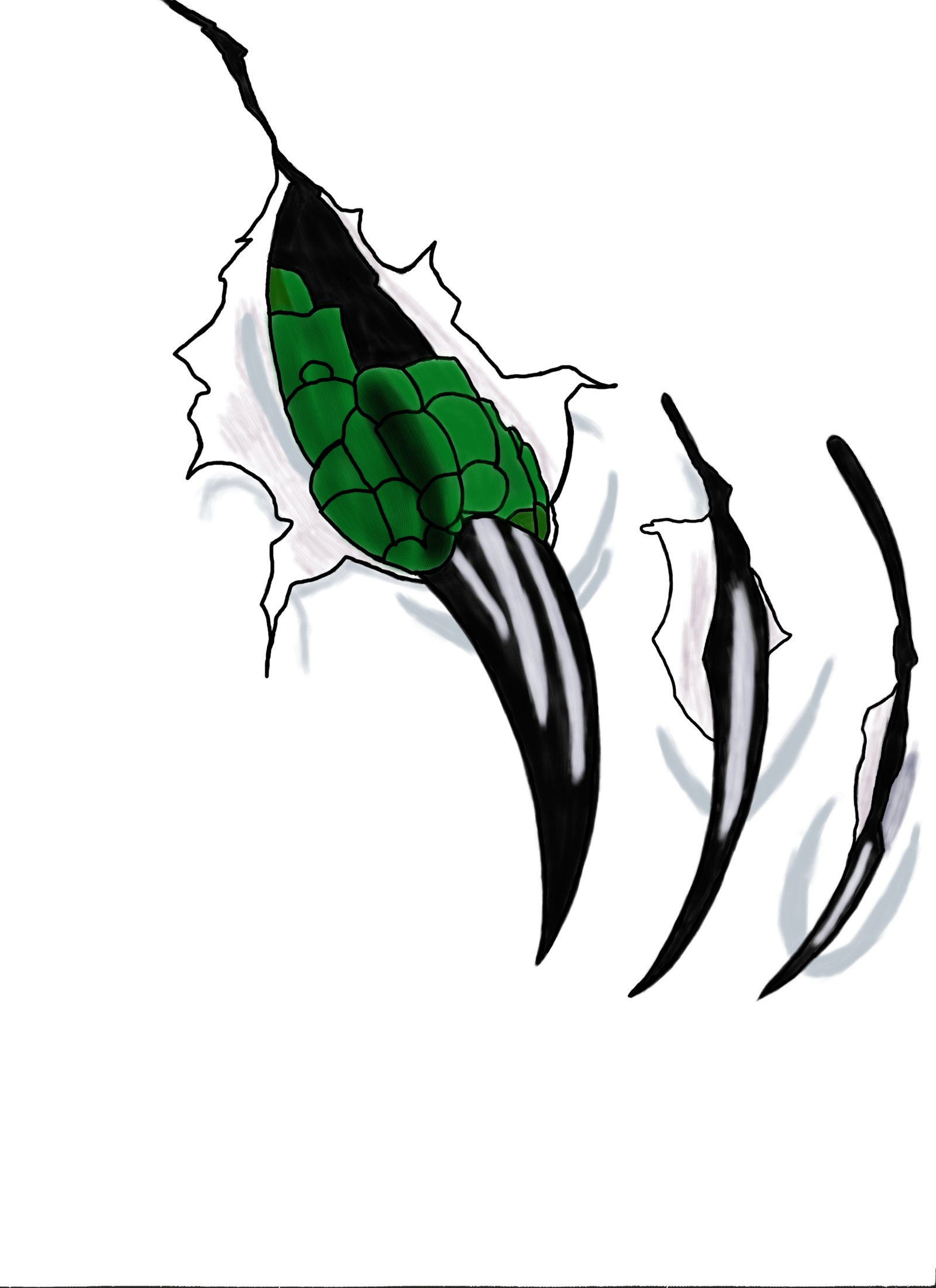 Claws Ripping Clipart