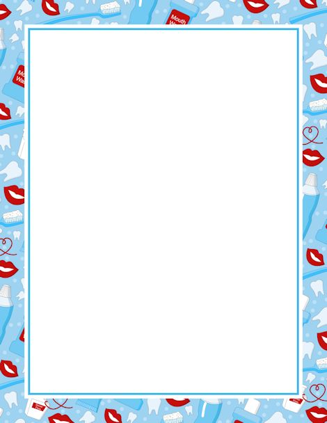 Tooth Border Clipart - Clipart Suggest