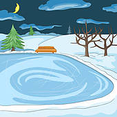 Ice Rink Illustrations And Clip Art  387 Ice Rink Royalty Free