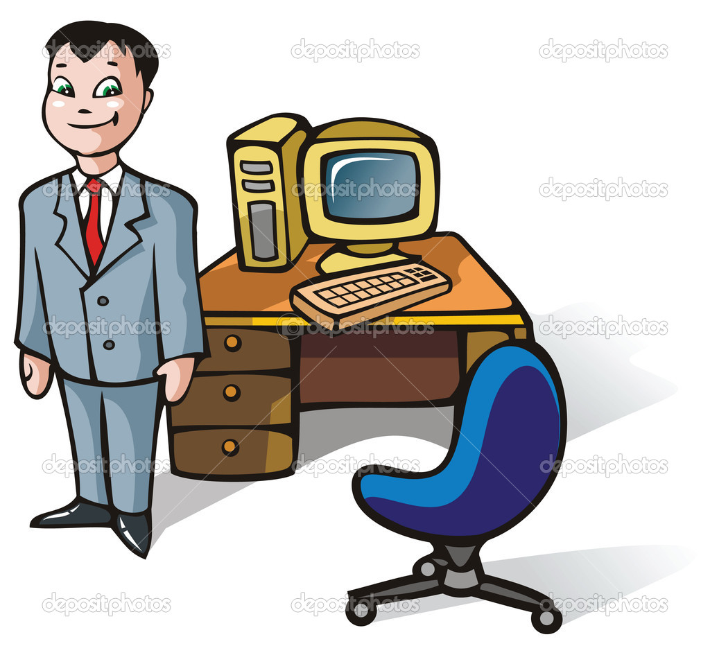 Office Clerk Clipart - Clipart Kid