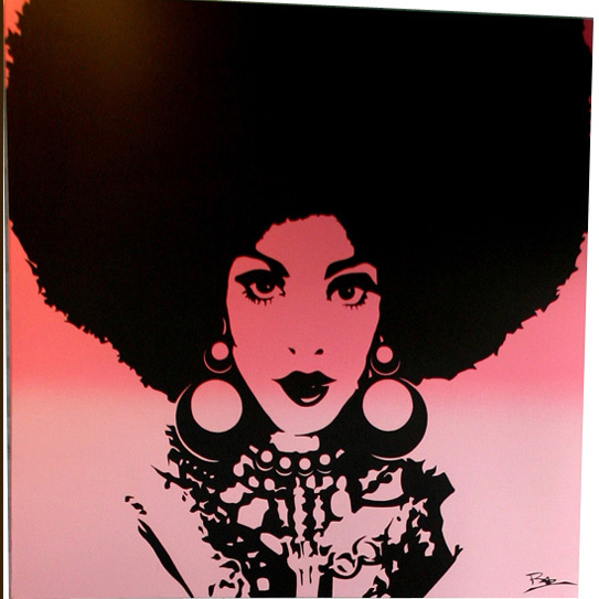 Natural Afro Hair Clip Art