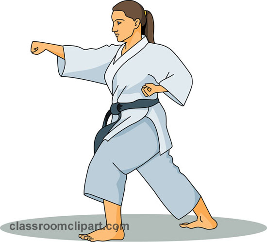 karate clipart clipart suggest