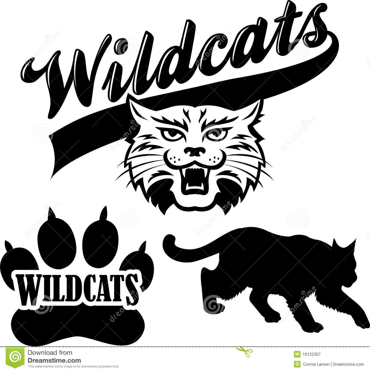 wildcat black and white clipart clipart suggest Wildcat Logo Clip Art Free Wildcat Logo Clip Art Free