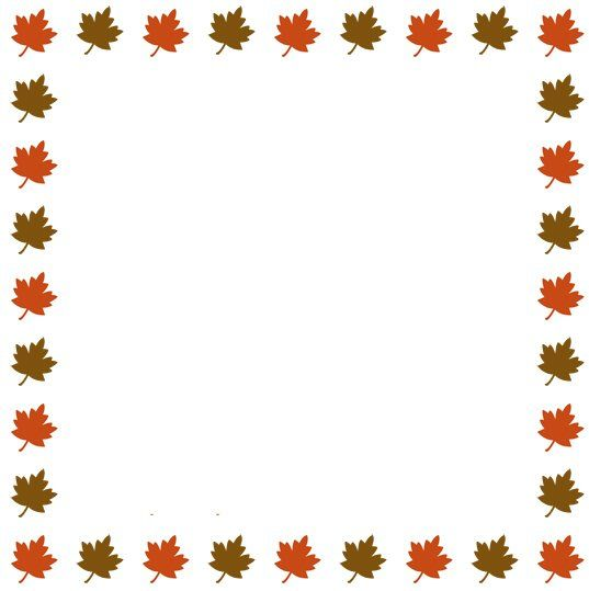 Autumn Leaves Clip Art Banners   Free Fall Clip Art Images   Autumn