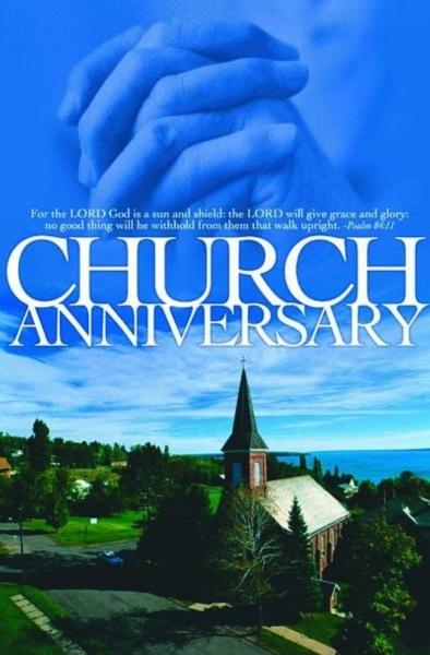 Church Anniversary Clip Art