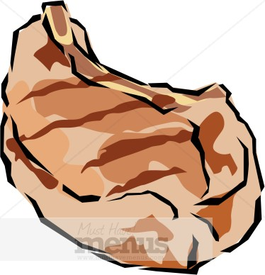 Eps Png Jpg Word Tweet Barbecue Pork Clipart This Pork Cutlet Is