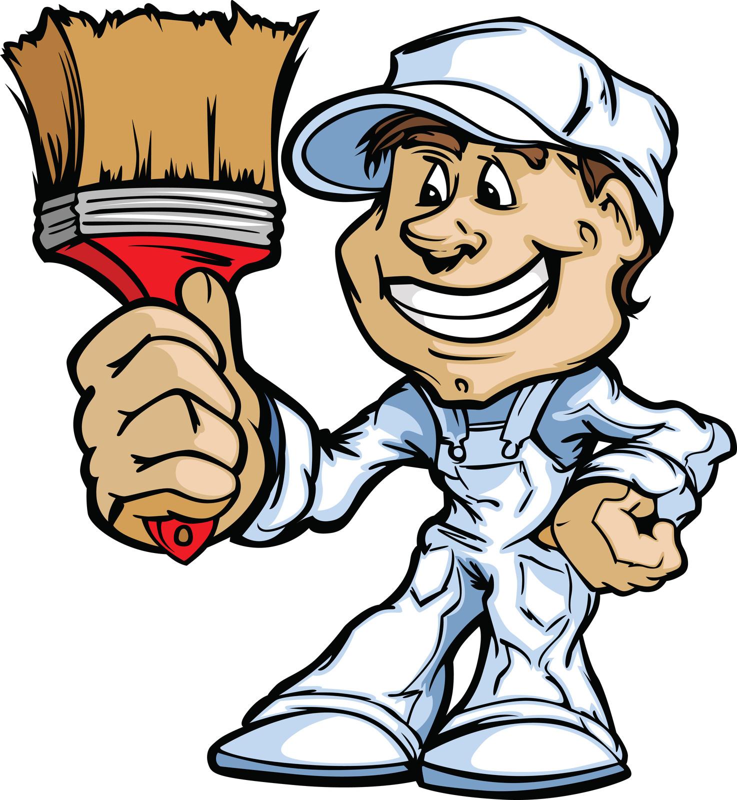 House Painter Clipart - Clipart Kid