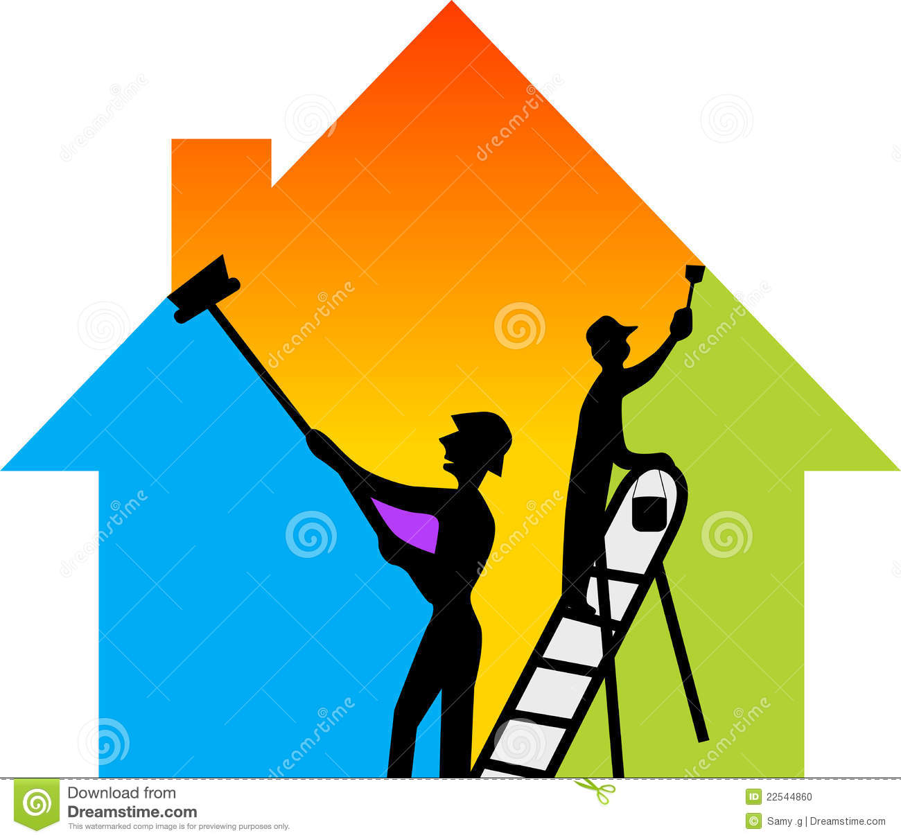Construction Painting Cliparts on Construction General Contractor Logos