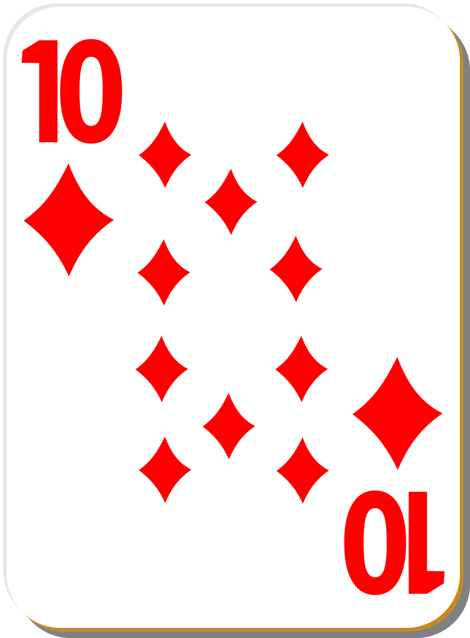 Individual Playing Card Clipart - Clipart Kid
