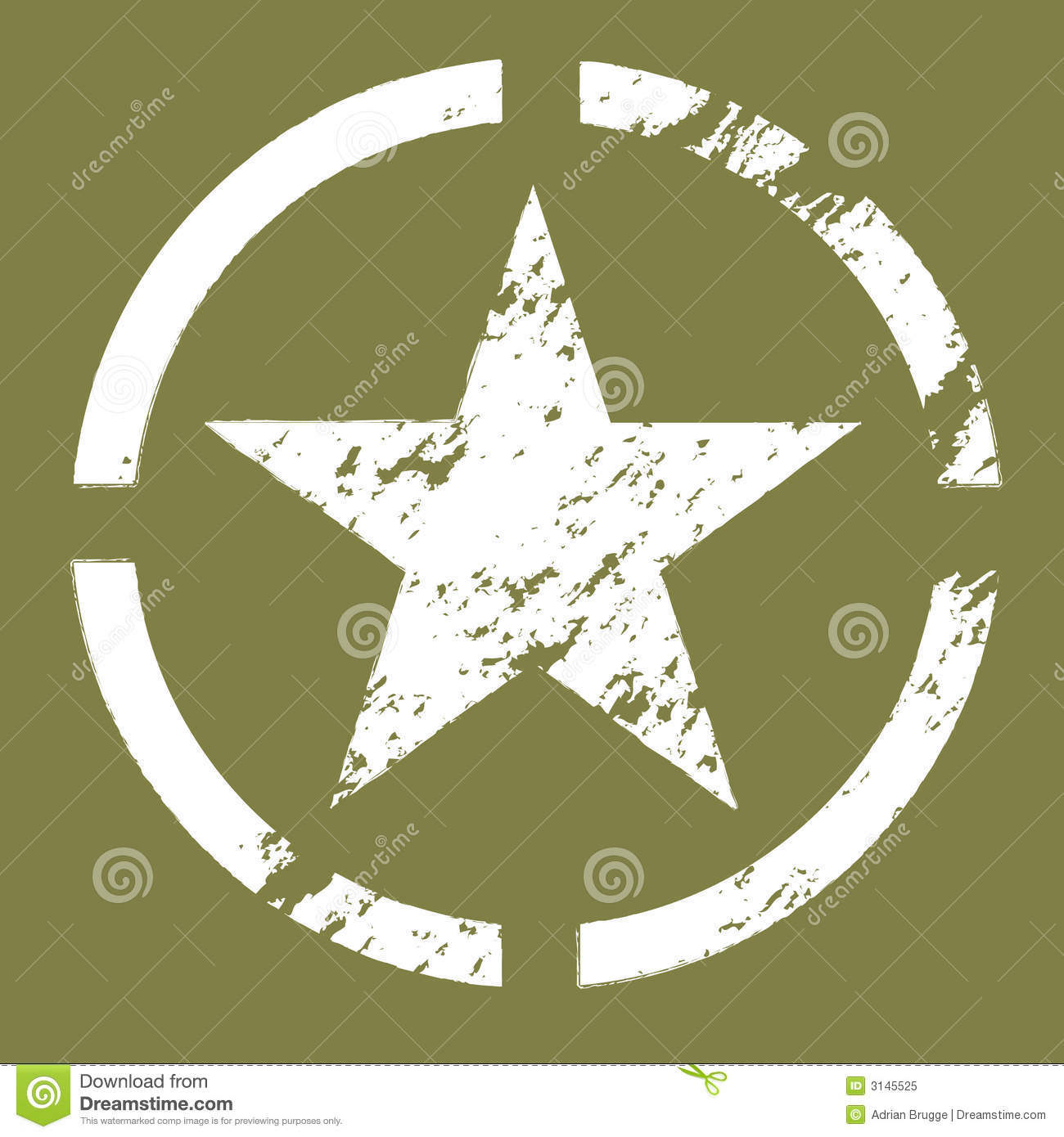 Army Star Clipart - Clipart Suggest