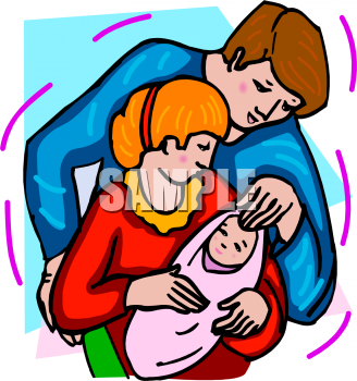 Mother And Baby Clip Art