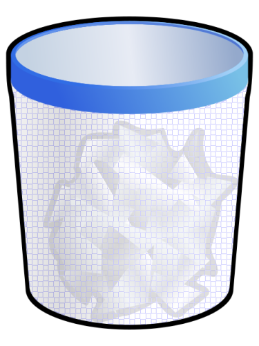 Paper Trash Can   Http   Www Wpclipart Com Office Trash Paper Trash