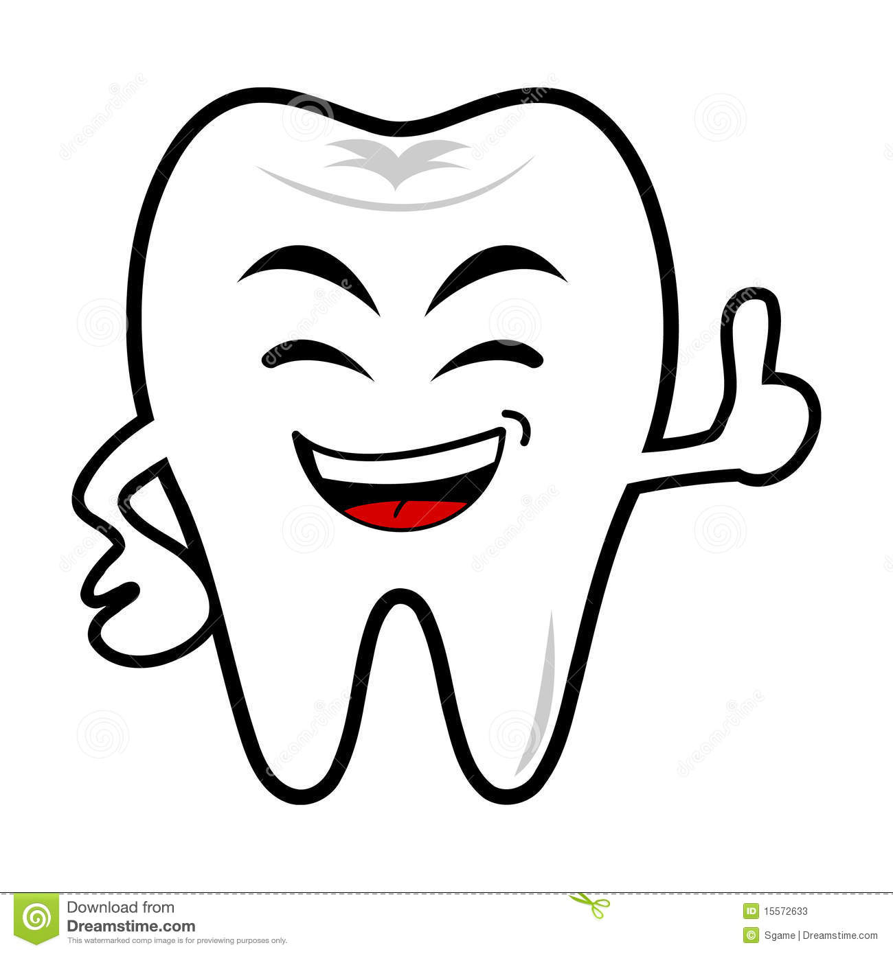 In A Tooth Smile Clipart - Clipart Suggest