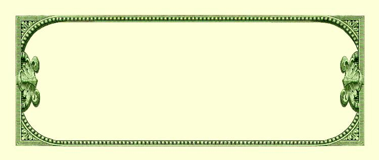 blank dollar bill clipart clipart suggest