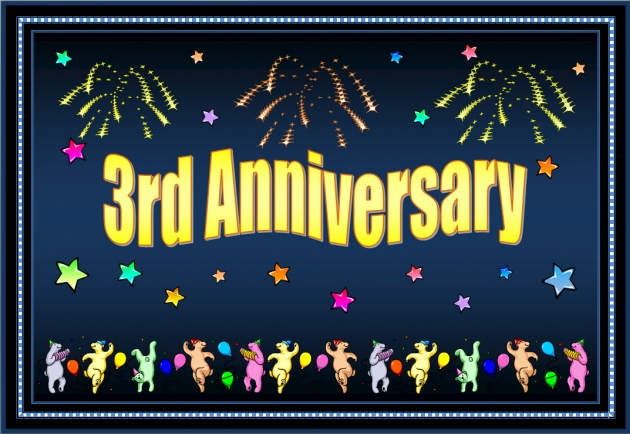 3rd Anniversary Clipart Clipart Suggest