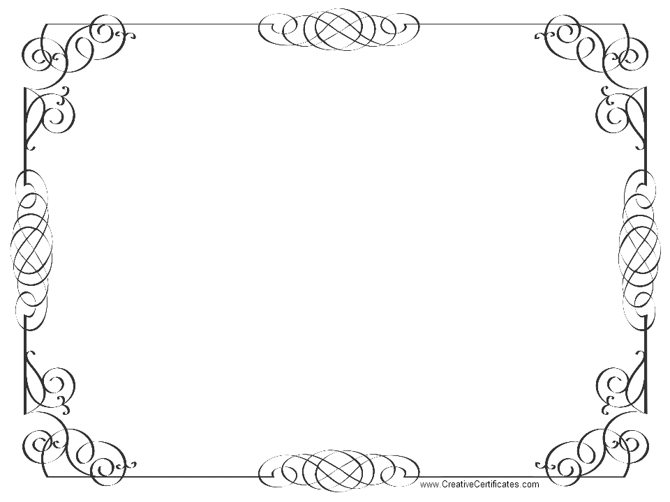 Certificate Border Clip Art Pictures To Pin On Pinterest