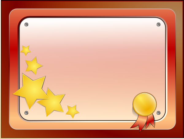 Certificate Clip Art At Clker Com Vector Clip Art Online Royalty