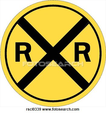 Clip Art   Railroad Crossing 1  Fotosearch   Search Clipart
