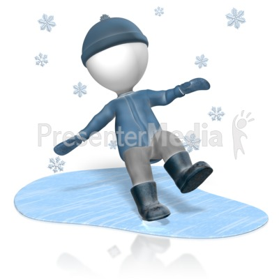 Figure Slip Ice   Presentation Clipart   Great Clipart For