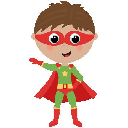 Cute Superhero Clipart - Clipart Kid