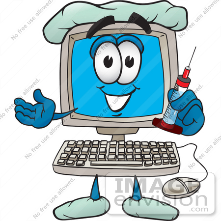Cartoon Computer Clipart - Clipart Kid