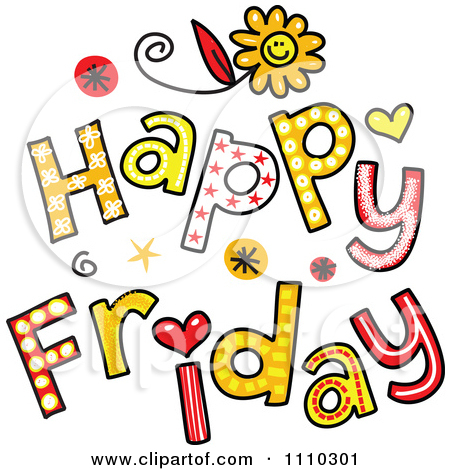 Funny Happy Friday Clipart   Cliparthut   Free Clipart