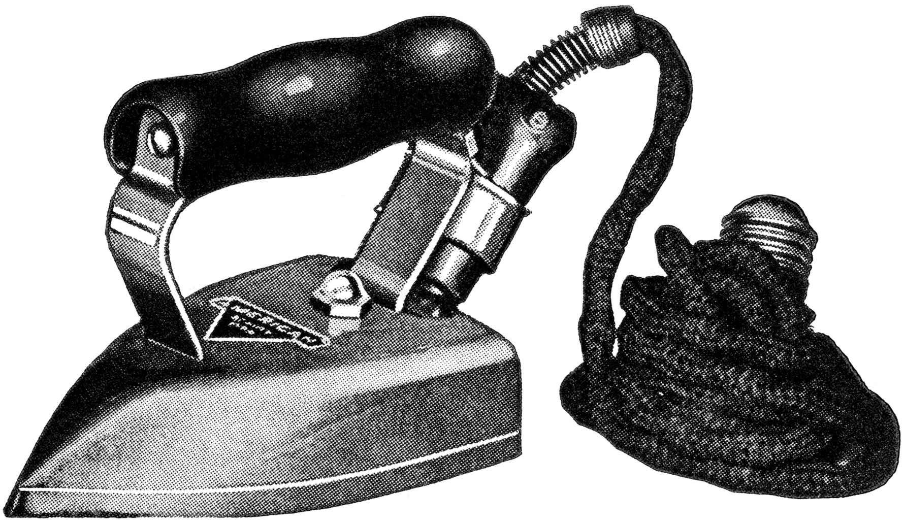 Iron Clip Art American Beauty Iron Antique Sewing Graphics Old