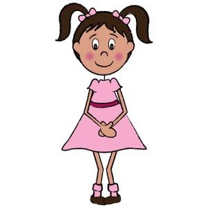 Clip Art Little Girl Clip Art little girls cartoon clipart kid it marketing world blog archive i do not eat boogers marketing