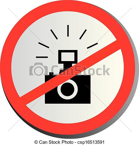 No Photography Allowed On White Background Csp16513591   Search Clip