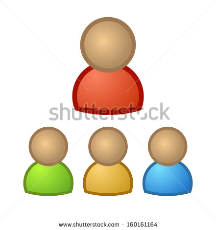 People Icon  Avatar User Profile Picture Character Clip Art    Stock