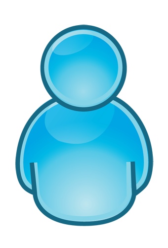 Person Icon Blue Png