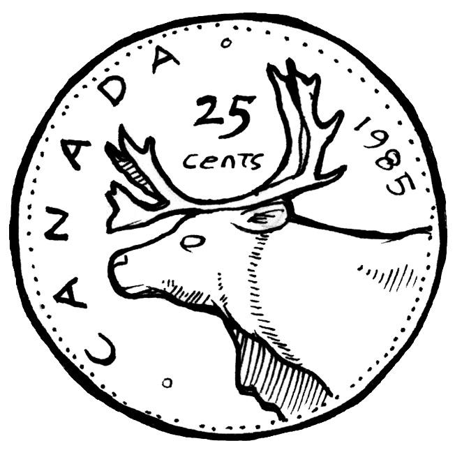 Money Quarter Clipart - Clipart Suggest
