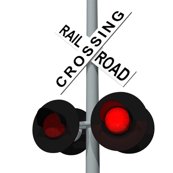 Railroad Crossing Sign Clip Art