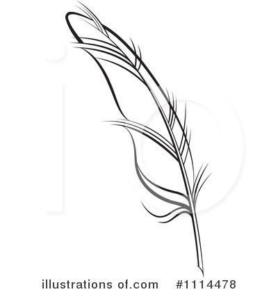 Royalty Free  Rf  Feather Quill Clipart Illustration  1114478 By Lal