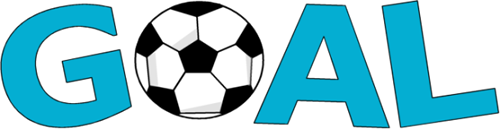 Soccer Goal Clipart Goal Words With Soccer Ball Png