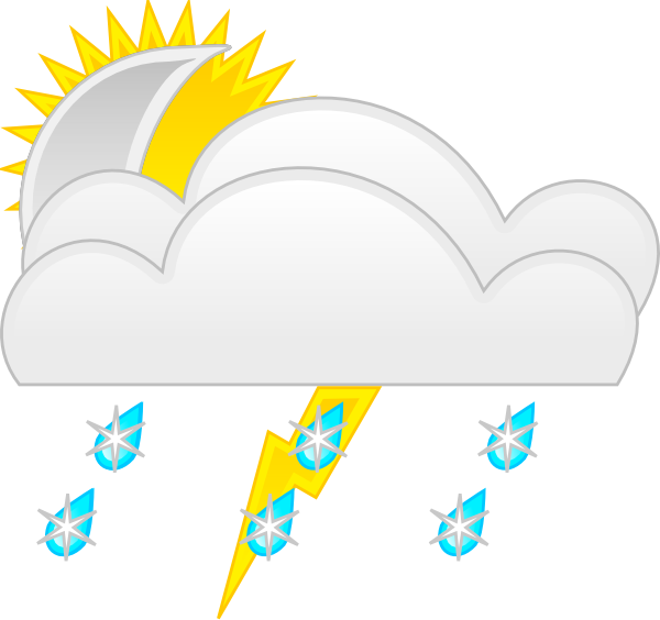 Weather Clip Art At Clker Com   Vector Clip Art Online Royalty Free