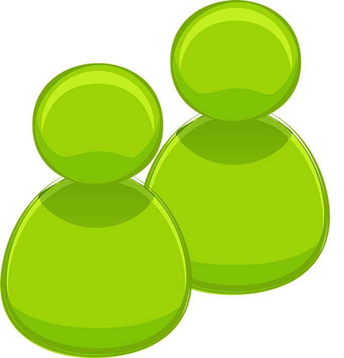 You Can Use This Green People Icon Clip Art On Your Personal Or