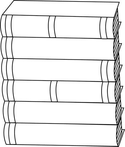 Book Cover Black And White Clipart : Book cover black and white clipart suggest