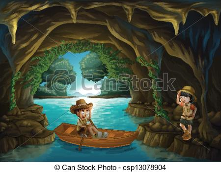 Cave   Stock Illustration Royalty Free Illustrations Stock Clip Art
