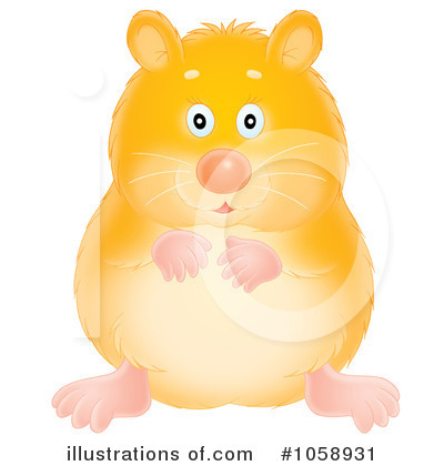 Hamster Clipart  1058931 By Alex Bannykh   Royalty Free  Rf  Stock