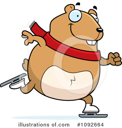 Hamster Clipart  1092664 By Cory Thoman   Royalty Free  Rf  Stock